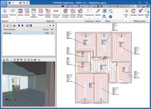CYPEHVAC Radiant Floor. Modelado BIM y cálculo de instalaciones de suelo radiante